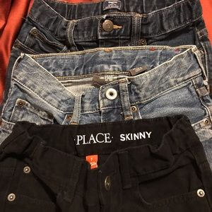 Other - 3 pairs of boy jeans sz 7